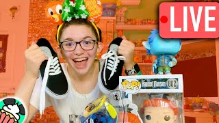 Disney Merch NEWS, Painting Shoes, & Channel Updates! //Disneycupcake LIVE 15