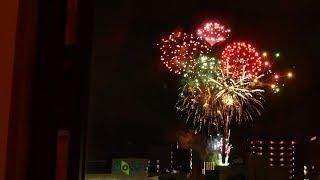 もりおか駅前開運花火Fireworksホテルからも♪|岩手・盛岡観光動画