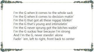 DJ Quik - When You're a Gee Lyrics