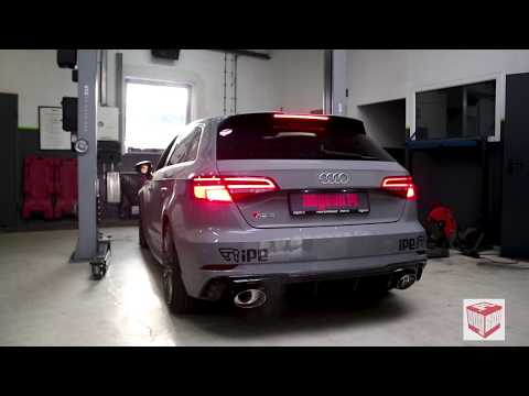 The iPE Exhaust for Audi RS3 8V Sportback