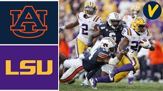 #9 Auburn vs #2 LSU Highlights | Week 9 | College Football Highlights