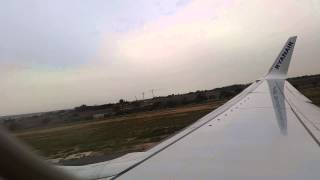 preview picture of video 'RYR4006 B738 Alicante Departure'