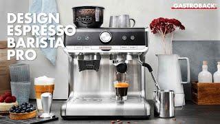 Gastroback 42616 Design Espresso Barista Pro english