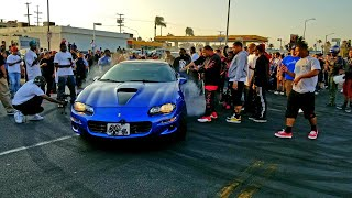 LOS ANGELES TAKEOVER | CARS GONE WILD BURNOUTS