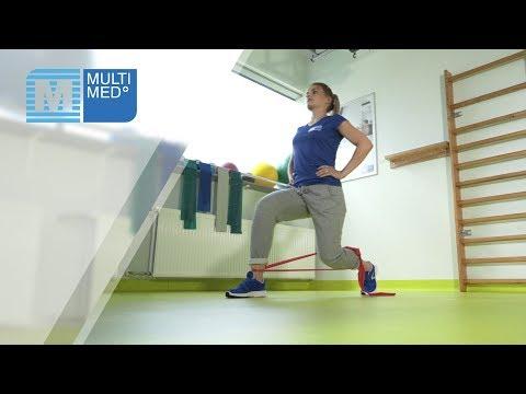 Stopa przesuwa się do tyłu mięśnie