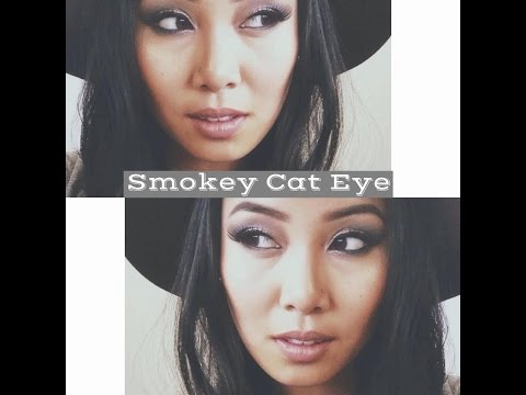 Smokey Cat Eye! (Makeup Tutorial)