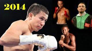 Gennady Golovkin \ 2014 \ 3 fights \ 3 боя