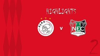 Samenvatting Jong Ajax - N.E.C. (19-08-2019)