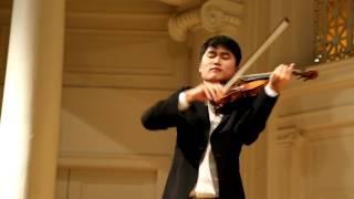 In Mo Yang Performs Paganiniana