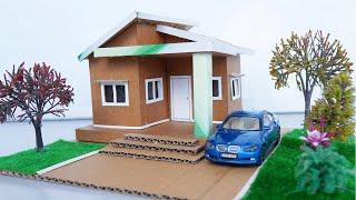 How To Make Beautiful Dollhouse Easily