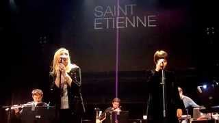 Saint Etienne - Hobart Paving (Live in Thessaloniki 06/02/15)