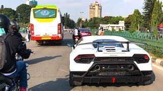 Spotting 3 White Lamborghinis In a Day INDIA (Bangalore) - Aventador, Urus & Performante