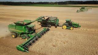 CTF Harvest 2018 - 2x John Deere S690i tracks + 640X, John Deere 8370RT + Elmers Haul Master 1600