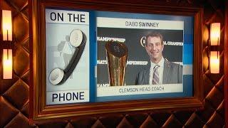 Clemson Football Head Coach Dabo Swinney on Winning The National Championship & More - 1/17/17