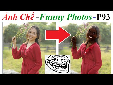 Ảnh Chế  – Funny Photos (P 93) Gái xinh nhờ cộng đồng mạng chỉnh sửa ảnh và cái kết, Photoshop Troll