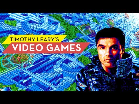 See LSD Guru Timothy Leary's Unfinished Video Games