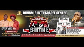 #DRC2019: (ARISE & SHINE) WORSHIP & WONDERS NIGHT 31-05-19