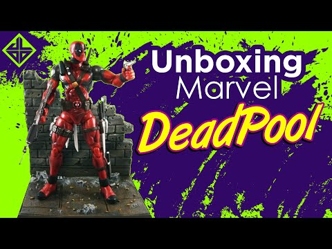 UNBOXING REVIEW FIGURAS DE ACCION Y JUGUETES DE MARVEL Dead Pool