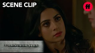 Shadowhunters | Season 2, Episode 2: Clary & Izzy Have a Talk | Freeform