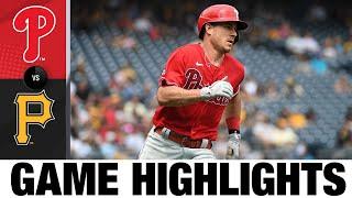 Phillies vs. Pirates Game Highlights (8/01/21) | MLB Cov ntsiab lus tseem ceeb