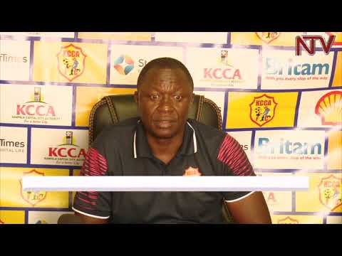 Mike Mutebi confident ahead of KCCA FC's match against DRC's AS Otoho