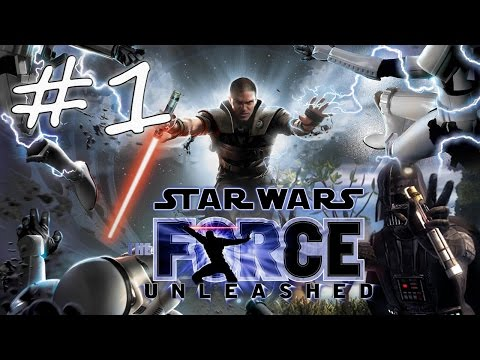 Прохождение Star Wars: The Force Unleashed (PC) #1 - Кашиик