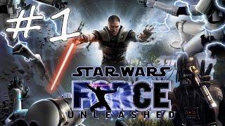 Прохождение Star Wars: The Force Unleashed (PC) #1 - Кашиик