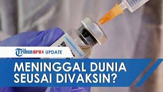 Direktur STIK Tamalatea Makassar Meninggal Divaksin Covid 19 tahap Dua, Begini Penjelasan Pihak RS