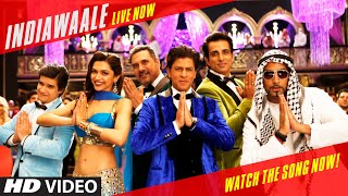 OFFICIAL: 'India Waale' Video Song - Happy New Year | Shah