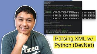 Parsing XML with Python (DevNet)