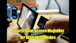 Smartphone Screen Magnifier Amplifier Projector for Watching Movies