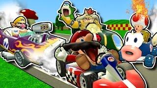 R64: Stupid Mario Kart