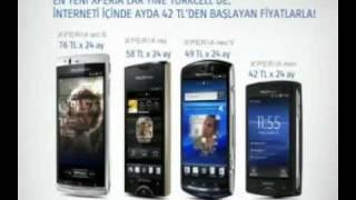 Sony Ericsson Xperia™ serisi timescape Sosyal Medya Turkcell TV Reklamı!
