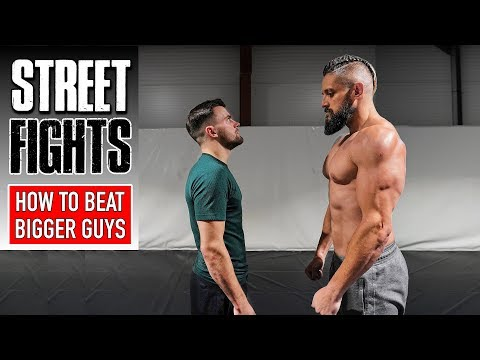 How To Fight & Beat Bigger Guys | STREET FIGHT SURVIVAL | Most Painful Self Defence Techniques