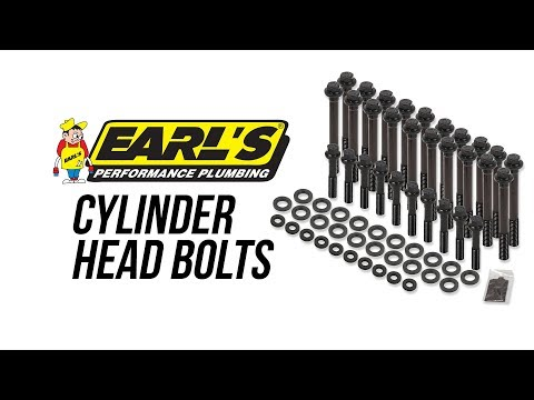 Earl's Cylinder Head Bolts