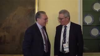ԱԳ նախարար Զոհրաբ Մնացականյանի հանդիպումը  Մալթայի արտաքին գործերի և եվրոպական հարցերով նախարար Էվարիստ Բարտոլոյի հետ