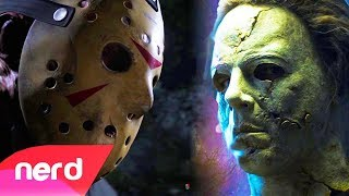Friday The 13th vs Dead By Daylight   Rap Battle   #NerdOut! (Jason Voorhees vs Michael Myers)