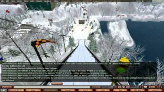 Giant Snail Races Chamonix City Ski Jump Tutorial