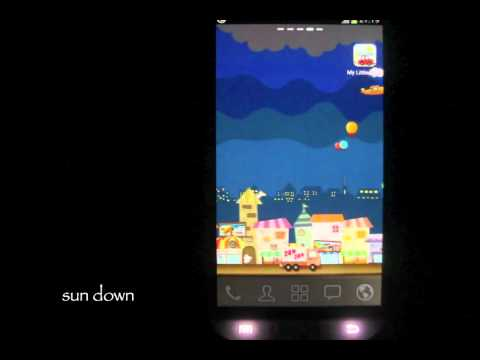 Video of My Little Town Live wallpaper