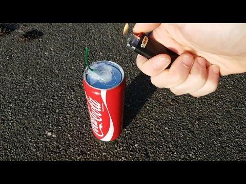 Wie man eine Rauchbombe aus Coca Cola baut!