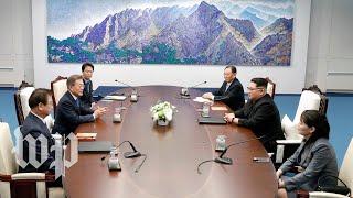 The historic Koreas summit, in three minutes