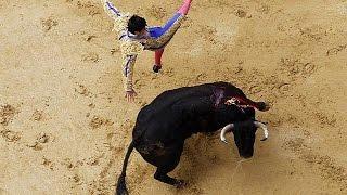 Wieder Stierkampf in Bogotá: Gewalt auch vor der Arena