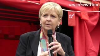 preview picture of video 'Bundestagswahl 2013: Wahlkampfrede von Hannelore Kraft (SPD) in Witten (7. September 2013)'
