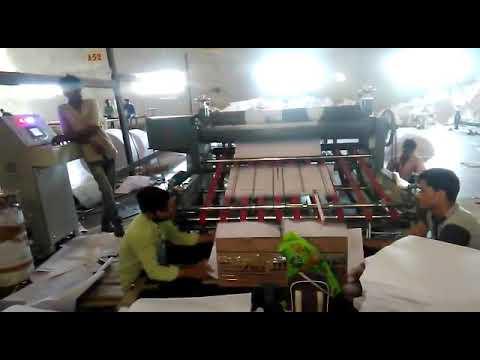 Servo Precision Rotary Paper Cut to length Machine