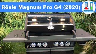 """Weltneuheit: Rösle Gasgrill """"Magnum"""" (Pro G4, Modell 2020) - Vorstellung auf der Spoga - deutsch"""