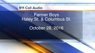 911 CALL: Full audio from the Farmer Boys incident