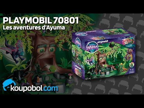 Vidéo PLAYMOBIL Ayuma 70801 : Arbre de la Sagesse