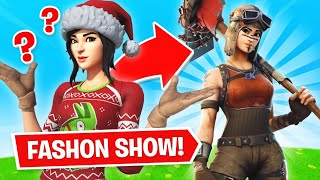 Fortnite | Fashion Show! Skin Competition! Best DRIP & EMOTES WINS! [3/8]