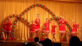 """""""Фиеста""""- шоу-балет """"Golden dance"""""""