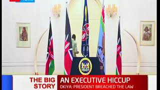 The Big Story: An executive hiccup